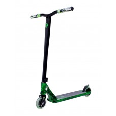 Grit Elite Stunt Scooter - Black Green Marble and Black