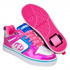 Heelys Motion 2.0 - Pink, Silver and Aqua
