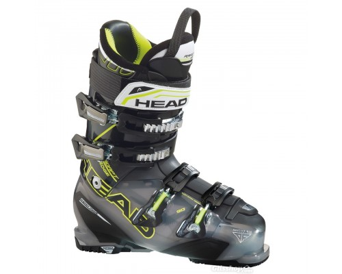 Head Edge 90 Ski Boots - Anthracite, Black and Yellow