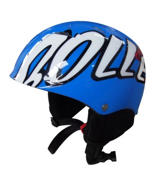 Bolle Kids Goggle and Helmet Combo Pack: Blue