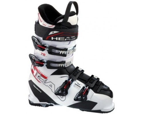 Head Next Edge 70 Ski Boot - White, Black and Red