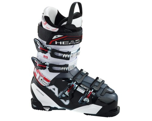 Head Next Edge 80 Ski Boot - Black and White