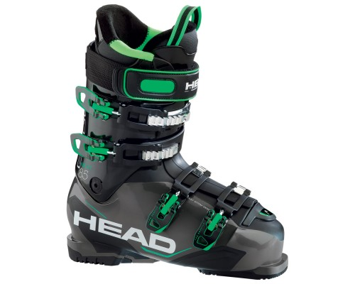 Head Next Edge 85 Ski Boots - Anthracite, Black and Green