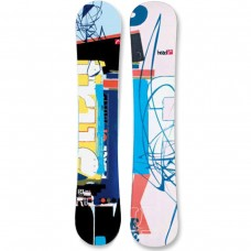 Head True Snowboard: Black (157)