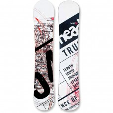 Head True Snowboard: White (154)