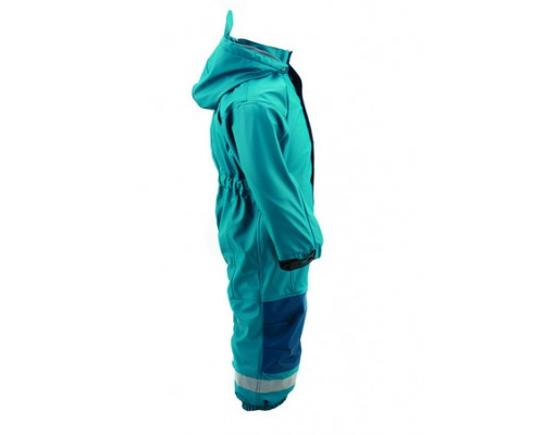 Kozi Kidz All-in-One Rain Suit - Petrol Blue