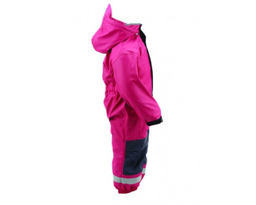 Kozi Kidz All-in-One Rain Suit - Raspberry
