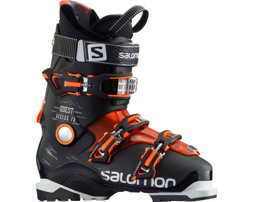 Salomon Quest Access 70 Ski Boots - Black and Orange