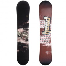 Head True XL Snowboard: Black (155)
