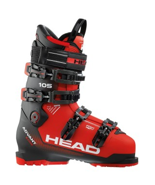 Head Advant Edge 105 Ski Boots - Red and Black