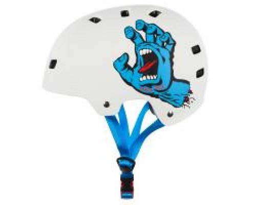 Bullet x Santa Cruz Screaming Hand Helmet - White