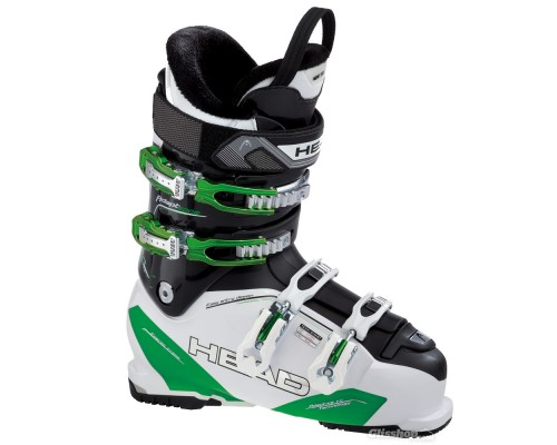 Head Adapt Edge 90 HF Ski Boots - White and Green
