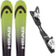 Head Rev 70 Skis - Black and Green