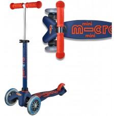 Mini Micro Deluxe Scooter - Navy
